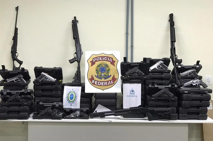 Milhares detidos e 200 mil armas apreendidas em operação da Interpol na América latina