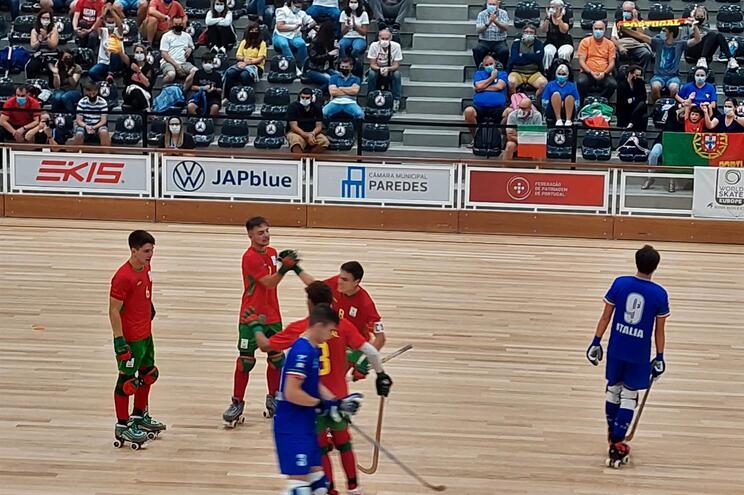 Portugal goleou a Itália no Europeu de sub-19