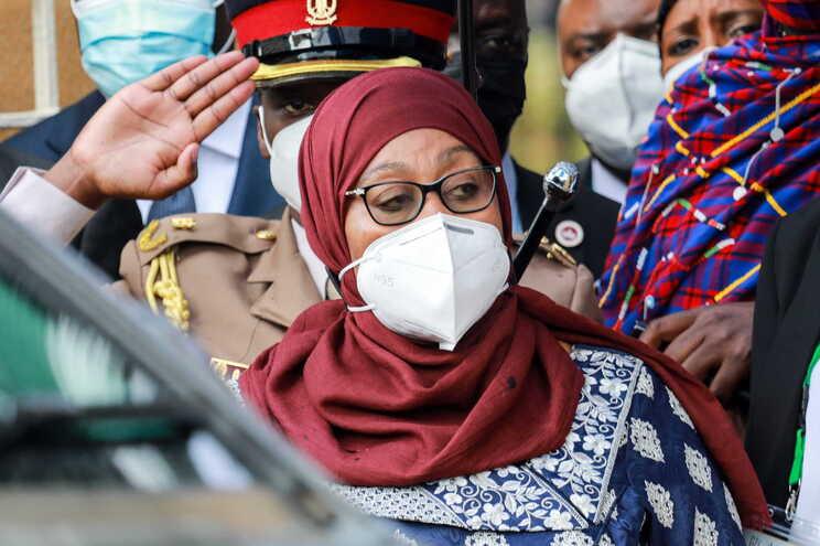 Samia Suluhu Hassan, presidente da Tanzânia