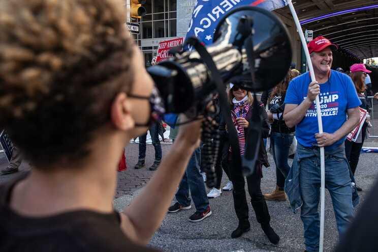Aumenta número de participantes nas manifestações de Filadélfia
