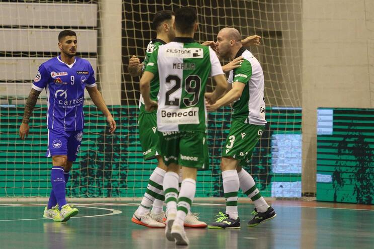 Sporting goleia Modicus e assegura vaga na final da Taça da Liga