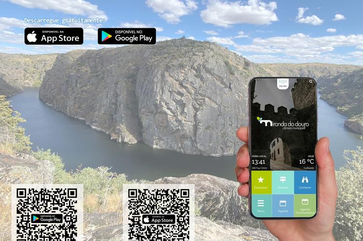 A aplicação móvel é gratuita