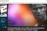 Marca histórica de Cristiano Ronaldo nos jornais de todo o mundo