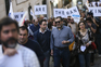 Professores e cientistas em protesto contra a precariedade