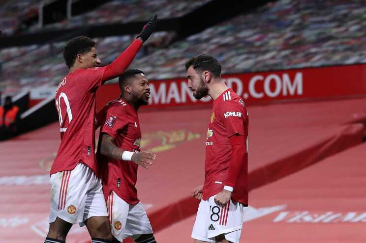 Bruno Fernandes marcou na goleada do United