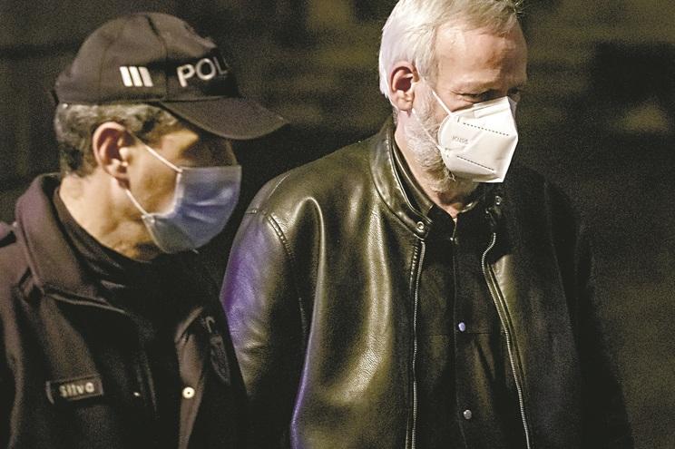 Gerhard Branz foi detido na Alemanha e está preso preventivamente na cadeia de Braga