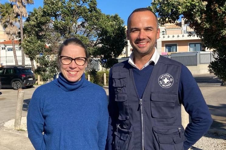 """Carla Paiva, diretora da MdM, e João Nascimento, fundador do """"Project Open Air"""""""