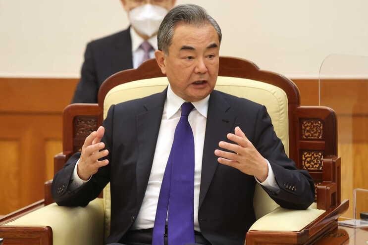O ministro chinês dos Negócios Estrangeiros, Wang Yi