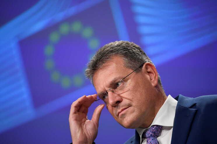 O vice-presidente da Comissão Europeia responsável pelas Relações Interinstitucionais, Maros Sefcovic