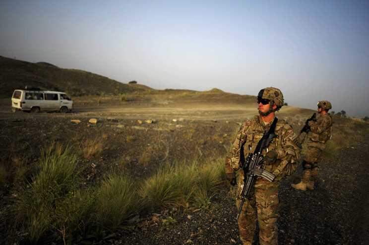 EUA invadiram o Afeganistão pouco depois do ataque às Torres Gémeas, em 2001