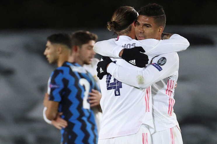 O Real Madrid venceu esta terça-feira