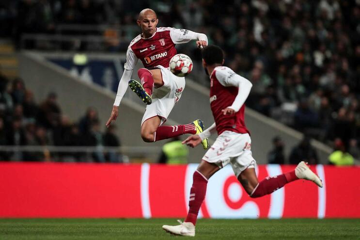 Bracarense Raul Silva é opção para o jogo com o Benfica