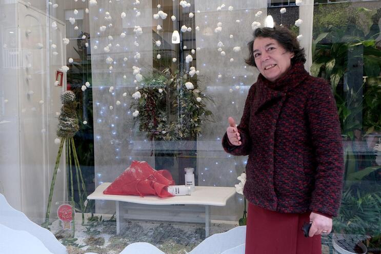 Maria Luísa Monteiro tem a loja aberta há quase 40 anos