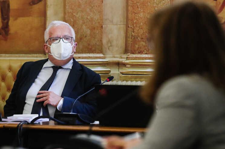 Ministro Eduardo Cabrita ouvido no parlamento