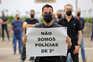 Polícias vão manifestar-se todos os dias para exigir subsídio de risco digno