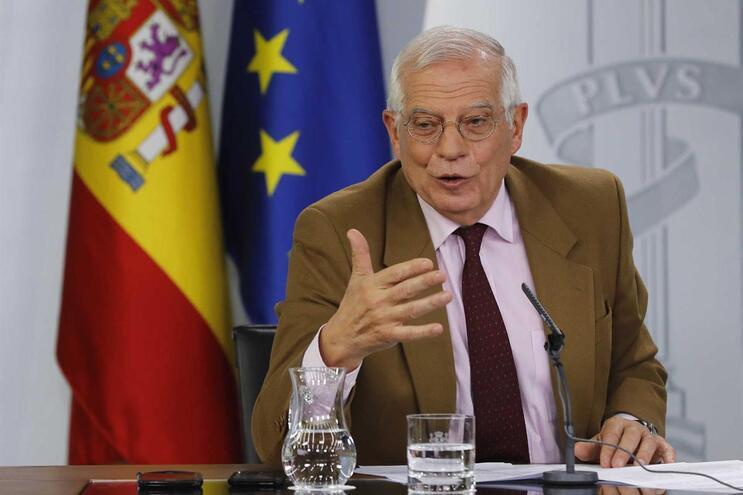 Ministro dos Negócios Estrangeiros e Cooperação espanhol, Josep Borrell