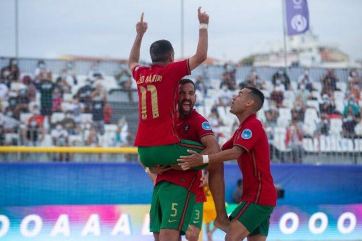 Portugal venceu a Ucrânia na superfinal da Liga Europeia