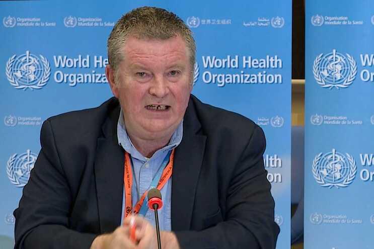 O diretor-executivo do programa de Emergências Sanitárias da OMS, Michael Ryan