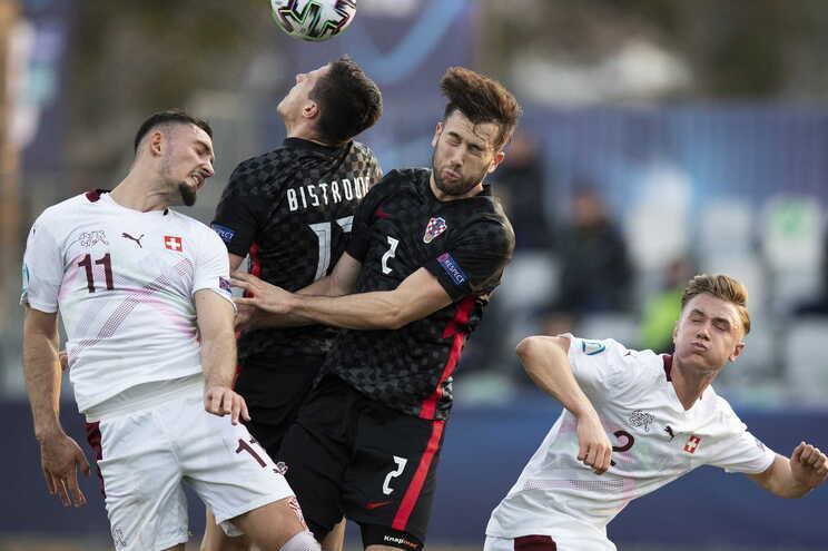 A Croácia venceu este domingo