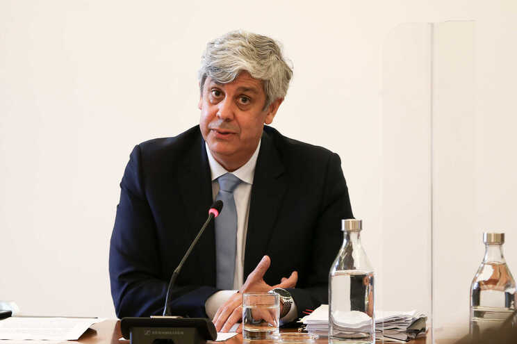 O governador do Banco de Portugal (BdP) e ex-ministro das Finanças, Mário Centeno