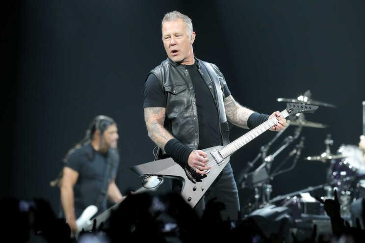 Os Metallica deram um concerto na Altice Arena, em Lisboa, em fevereiro de 2018