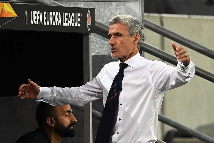 Luís Castro, treinador do Shakhtar Donetsk