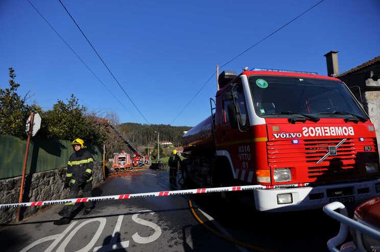 Risco de incêndio em distritos de Norte a Sul do país