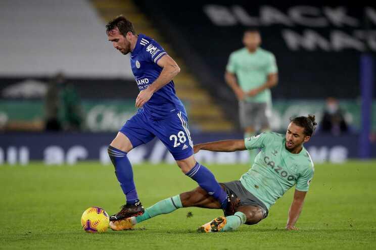 Leicester perdeu com Everton