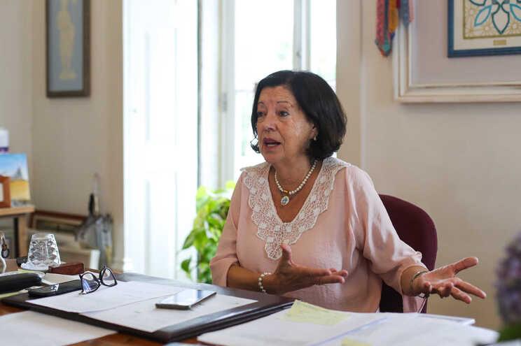 A atual presidente e recandidata à Câmara de Vila do Conde, Elisa Ferraz