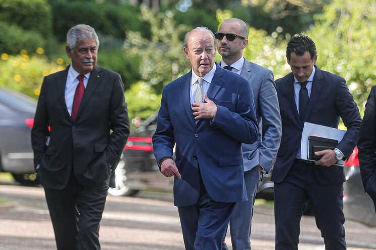 Presidentes dos três grandes voltam a encontrar-se, desta vez na Mealhada