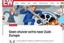 "Artigo da ""Elsevier Weekblad"" critica apoios a países do sul da Europa"