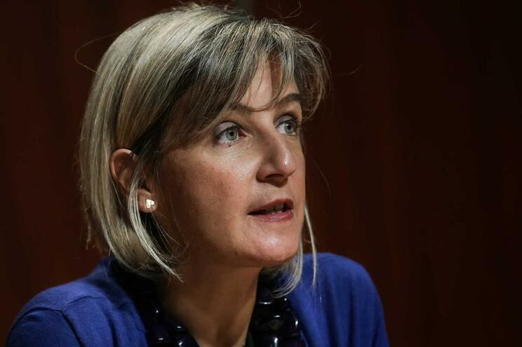 A ministra da Saúde, Marta Temido