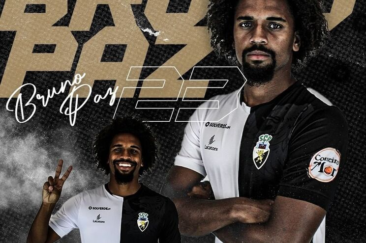 Bruno Paz jogou nas equipas sub-23 e B do Sporting