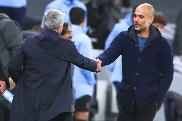 Tottenham vence City e Mourinho equilibra duelo direto com Guardiola