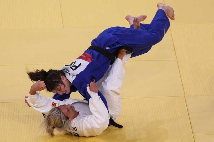 A portuguesa perdeu no segundo combate com a polaca Julia Kowalczyk
