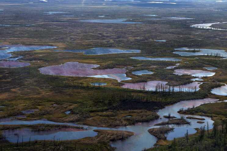 A região de Norilsk foi afetada no ano passado por uma catástrofe ecológica após a fuga de 21 mil toneladas