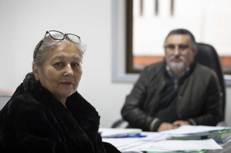 Conceição Tinoco e Carlos Costa, contabilista