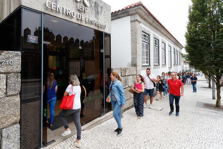 Instalações do IEFP em Guimarães