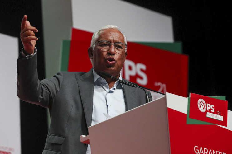 Primeiro-ministro e secretário-geral do PS, António Costa