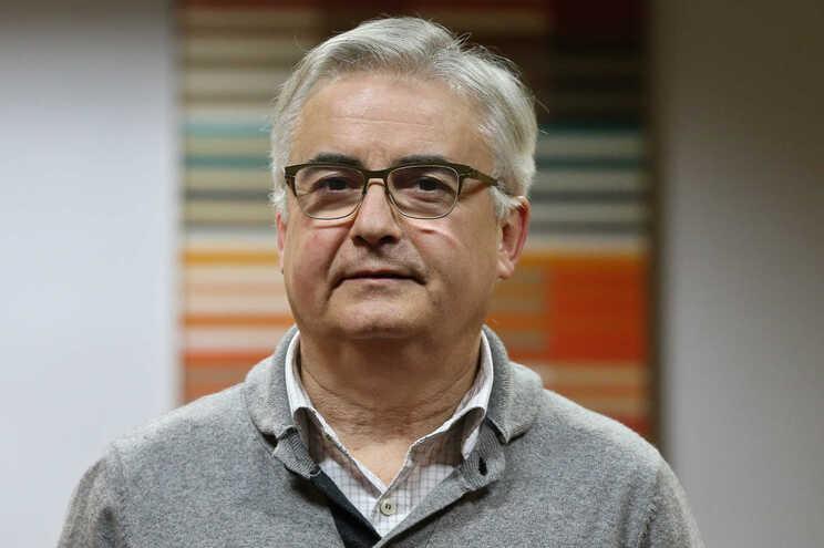 O jornalista Pedro Camacho, antigo diretor de informação da Lusa