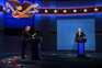 Donald Trump e Joe Biden no primeiro debate presidencial