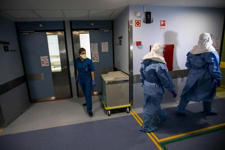 Maioria dos casos estão concentrados em hospitais do Norte