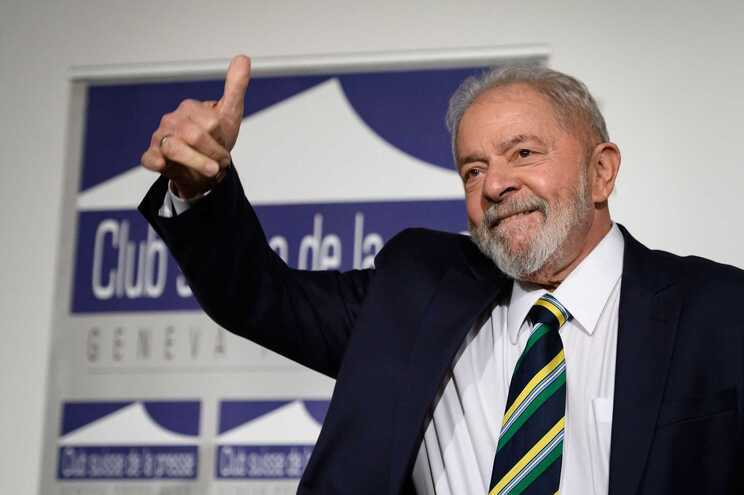 O ex-presidente brasileiro Lula da Silva