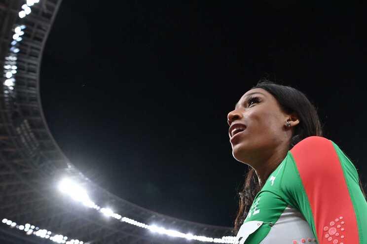 """""""Já faço parte das atletas que passaram os 15 metros"""", congratulou-se a atleta nacional"""