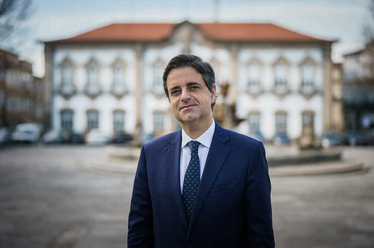 Ricardo Rio, presidente da câmara de Braga