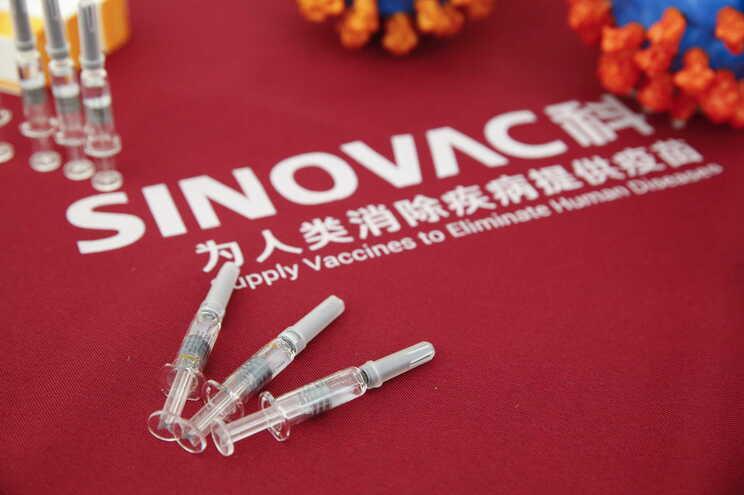 Vacina Coronavac, do laboratório chinês Sinovac