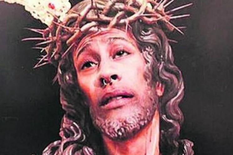 Montagem de Cristo que deu origem a processo