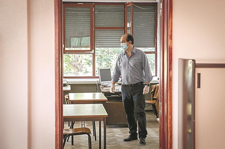 Ricardo Salvado (Professor de Matemática)  (Gerardo Santos / Global Imagens)