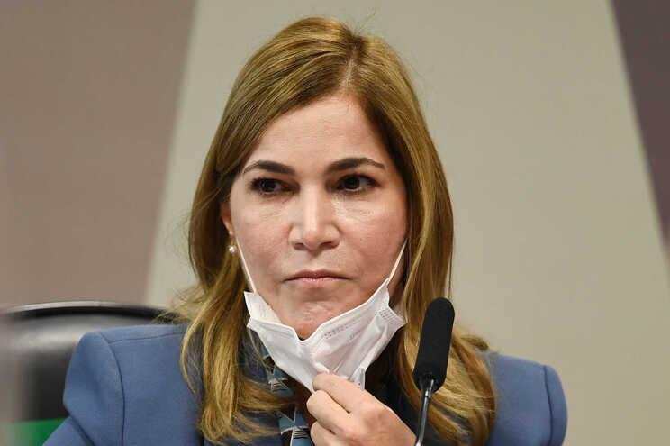 A secretária de Gestão do Trabalho e Educação do Ministério da Saúde brasileiro, Mayra Pinheiro