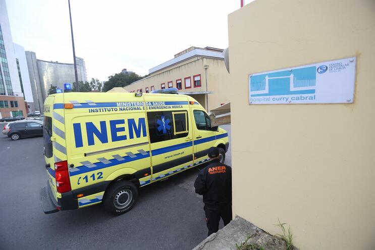 Hospital Curry Cabral recebe os doentes com covid-19